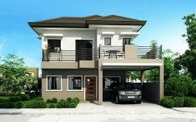 3 Story House Plans With Roof Deck Modern 2 Storey House With Two Storey Modern House Designs