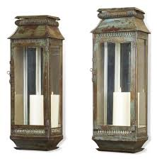 modena tall moroccan rustic pair wall sconce lanterns kathy kuo home candle sconces gold vintage