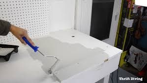 workbench paint makeover with beyond paint how to paint a workbench using beyond paint