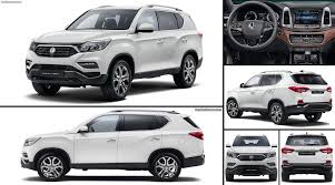ssangyong rexton 2018 latest cars