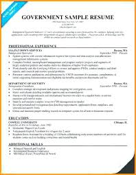 Government Resume Format Mesmerizing Government Resume Format Fede Stunning Resume Format For Government