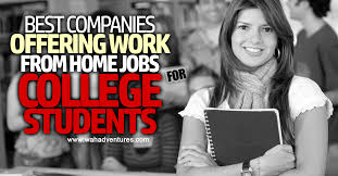 best legitimate companies offering online jobs for college students