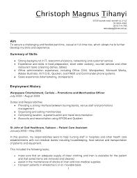 Pleasant Resume Objective For Apple Store On Good Resume Examples