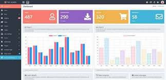 Free Web Templates For Employee Management System Pike Bootstrap 4 Kit Admin Template Php Cms