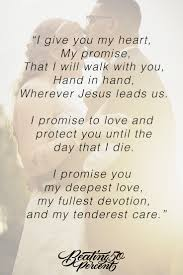 I Promise To You My Life As A Loving And Faithful Husband Love