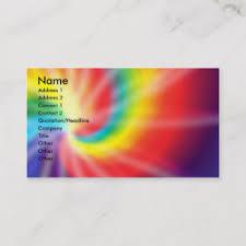 tie dye business cards tie dye business cards zazzle