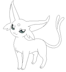 Pokemon Eevee Coloring Pages Colouring Pages Coloring Pokemon