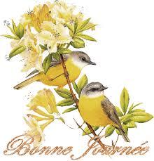 Gif bonne journée printemps 2 » GIF Images Download
