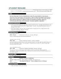 Best Resume Format For College Students Impressive Resume Example For College Student Beautiful Curriculum Vitae