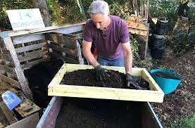 diy compost sifter how to make a compost sifter diy compost sifter