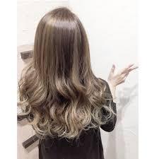 渋谷系 セミロング 外国人風 グラデーションカラーhair Salon Fift