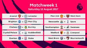 Premier League 2017/18 fixtures - AS.com