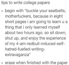 tips for writing essays in college college hacks tips on writing  tips