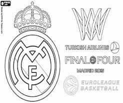 Real Madrid Logo Kleurplaat Logodesignfx