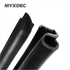<b>2Pcs/Lot Car</b> Sound Insulation Rubber Sealing Strip For B Pillar ...