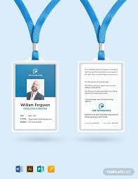 Make Your Own Identification Card 36 Free Id Card Templates Word Psd Indesign Apple