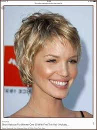 Short Hairstyles For Women Over 60 With Thin Hair 252012 Hairstyles