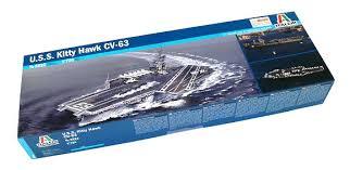 Italeri Military Model 1 720 War Ship U S S Theodore Roosevelt Cv