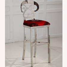 2016 stainless steel chairs ktv hotel bar stool after new retro modern bar high chairs bar chairs f1