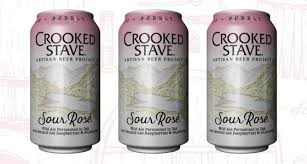 Image result for CROOKED STAVE SOUR ROSE LABEL