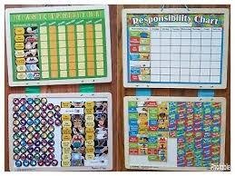 Melissa Doug Magnetic Responsibility Chore Chart Cheer