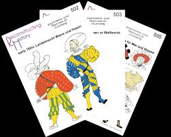 Historical Patterns Adorable Complete Landsknecht Package Reconstructing History