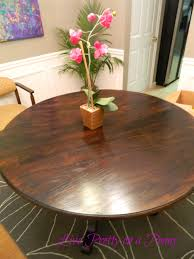 Refinish Kitchen Table Top Live Pretty On A Penny Refinishing An Oak Table A Dining Room