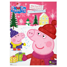 Peppa Pig Milk Chocolate Advent Calendar 60g | Chocolate ...