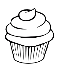 A Delicious Cupcake Coloring Pages Cookie Coloring Pages Girls