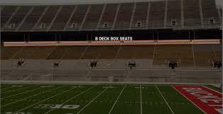 Ohio State Football Ohio Stadium Seating Chart