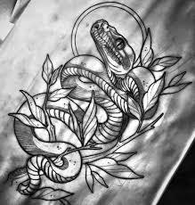 эскизы тату змей значение татуировки со змеей