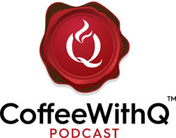 Customize your coffee logo with millions of icons, 100+ fonts. Qamar Zaman Official Coffee With Q Podcast For Purpose