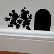minnie mickey mouse wall decal minnie