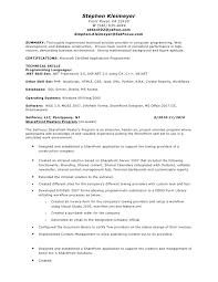 Stephen Kleimeyer's SharePoint Resume