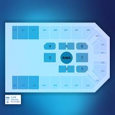 Kansas Star Arena Seating Chart Floor Layouts