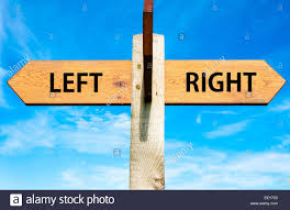 Image result for left versus right
