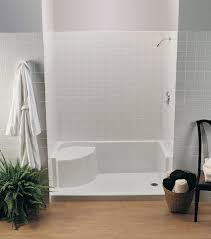 choosing the right bathtubs and showers acrylic and fiberglass bathroom showers by maax