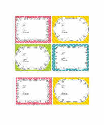 Gift Tag Template Free 44 Free Printable Gift Tag Templates Template Lab