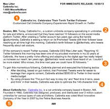 sample press release template how to write a press release free press release template examples