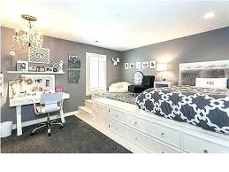 Black And White Bedroom For Teenage Girl Innovative Bedroom Ideas ...