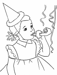 Birthday Party Drawing At Getdrawingscom Free For Personal Use