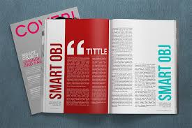 Magazine Template Psd Magazine Template Psd Template Business
