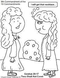 Adult 10 Commandments Coloring Pages Preschool 10 Commandments