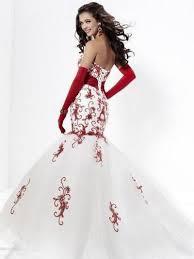 Red Wedding Dresses Dressed Up Girl