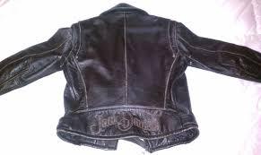 womens small jack daniels burn out distress leather er jacket imagu0068 jpg