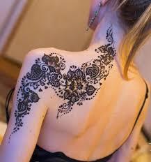 рисунки на плече хной 21 фото легкие узоры на предплечье для