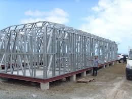 Light Steel Frame House Philippines Prefabricated Light Steel Frame Houses Hurricane Resistant Prefab House