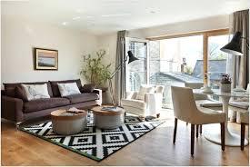 image of modern white rug for bedroom