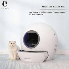 Tự Động Tự Vệ Sinh Mèo Hộp Đóng Hoàn Toàn Phân Máy Khử Mùi Bedpan Tự Động  Xẻng Khử Trùng Bằng Tia Cực Tím Mèo Vệ Sinh|Hộp Đi Vệ Sinh Mèo