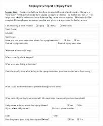 Free Printable Write Up Form For Employee Template 3412